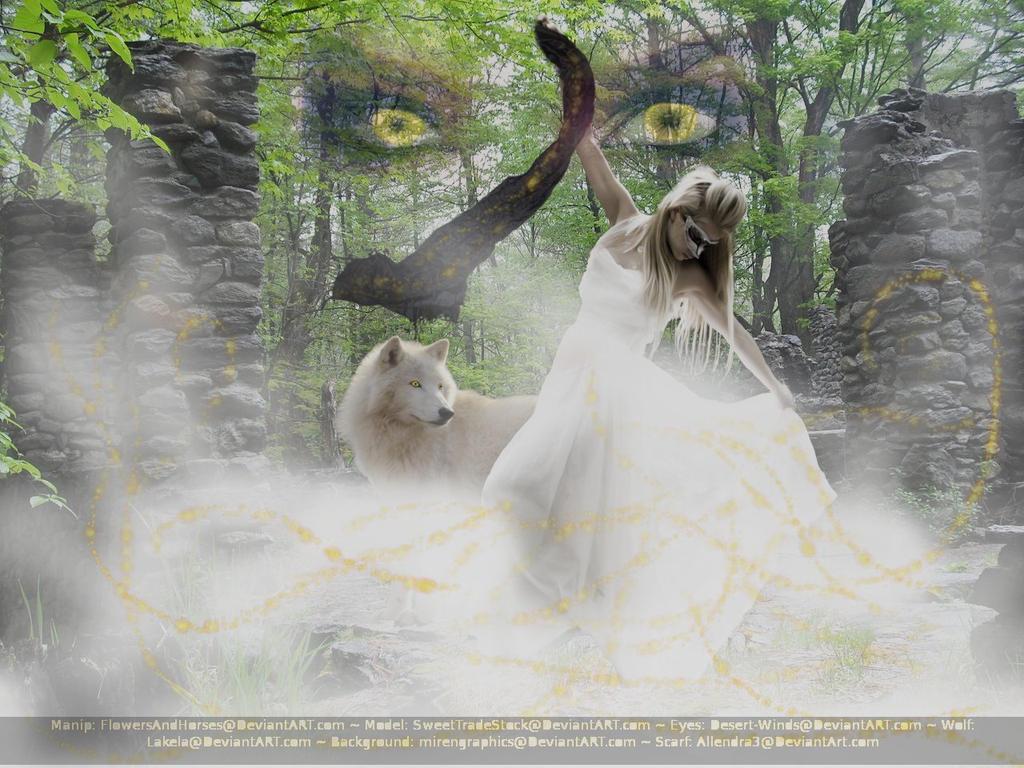 The Golden Sorceress by FlowersAndHorses
