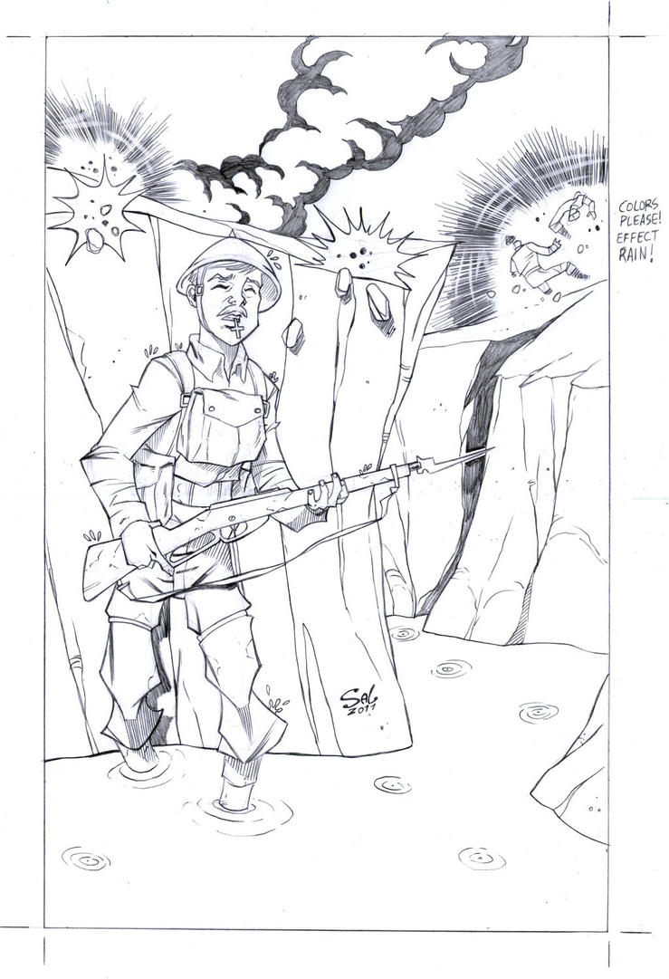 JRRTOLKIEN pg 01 by msalaza