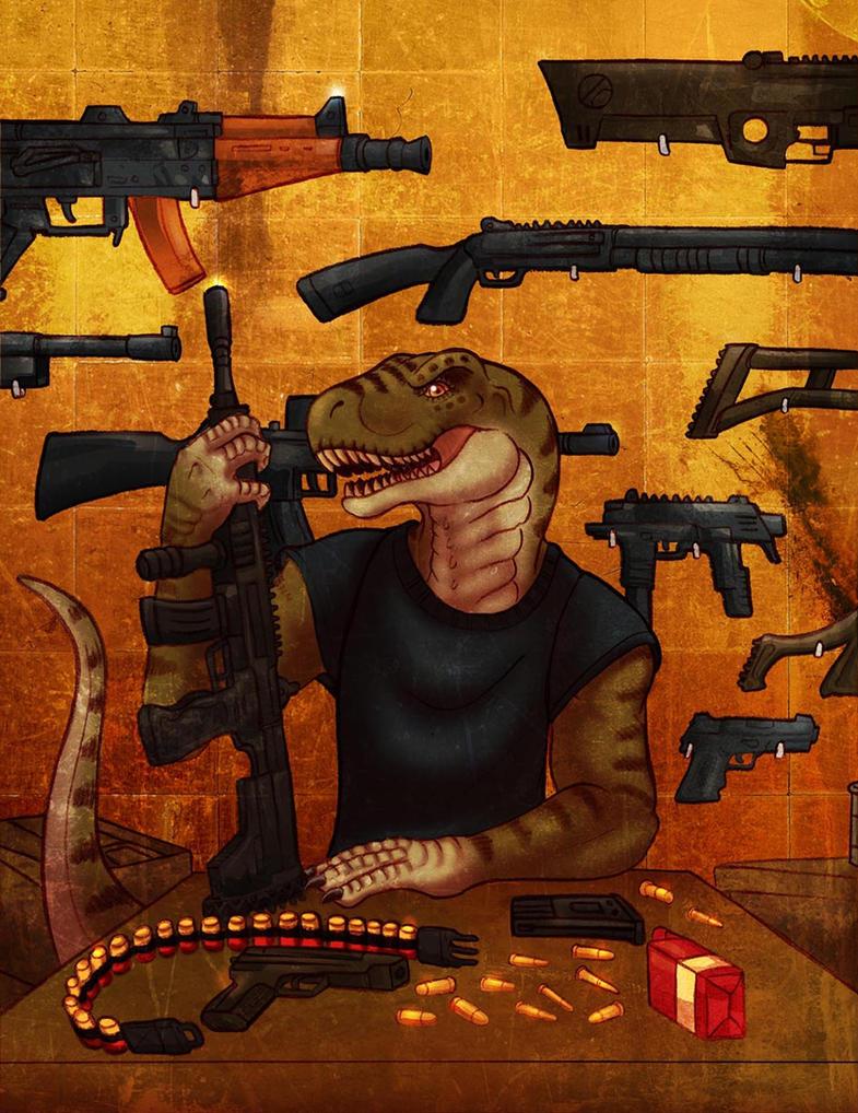 Gun Room by CobraCalhoun