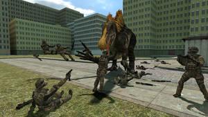 indestructible Spinosaurus