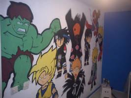 Chibi graffiti Wall Art 2