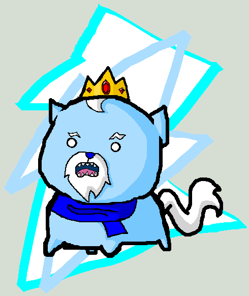 Adventure Time: The Ice Cat by icanhascheezeburger