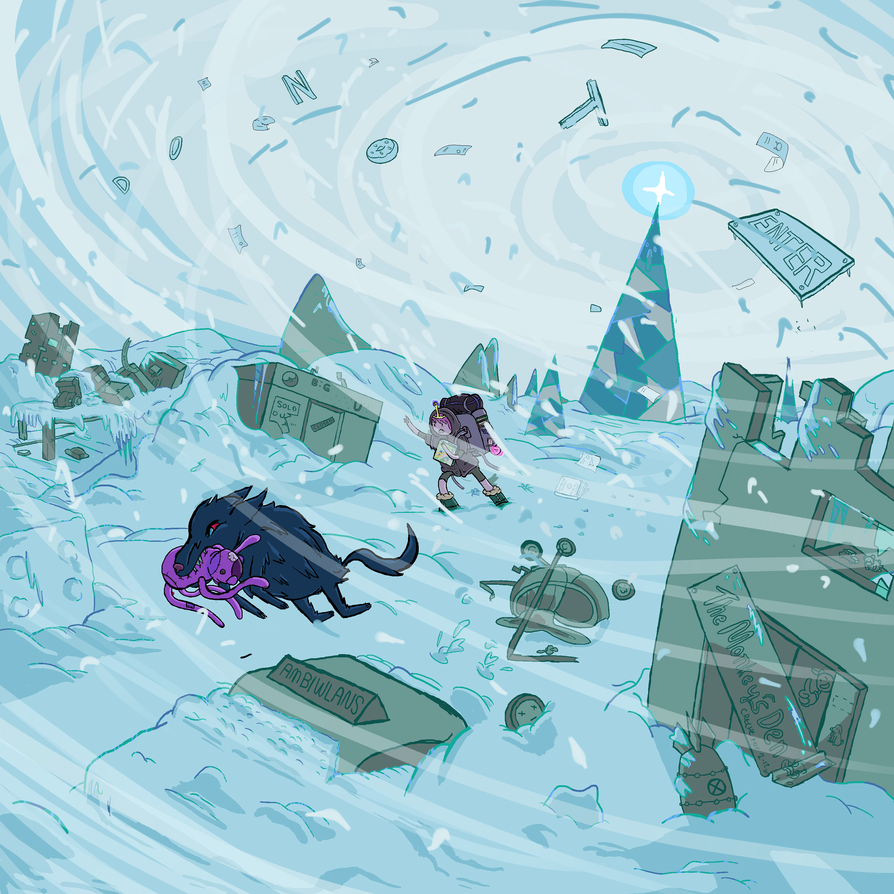 THE ICE KINGDOM IS BORN by icanhascheezeburger