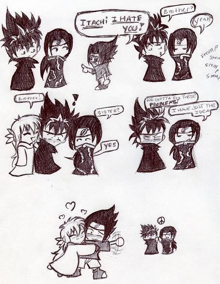 hiei and itachi comic 2 by