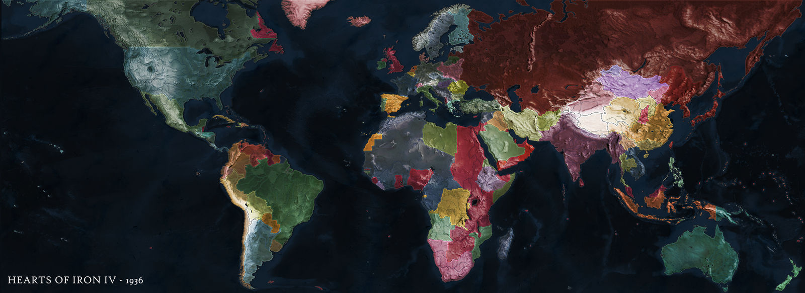 Hearts of Iron IV - 1936 by kerfank