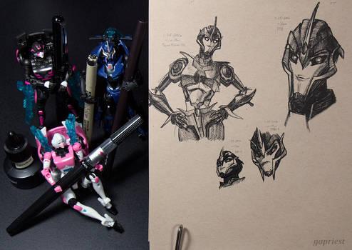 Arcee sketches