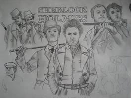 Sherlock Holmes WIP by Telacontar