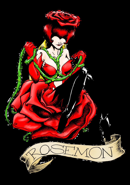 Rosemon Tattoo Color By MystressVulpes On DeviantArt