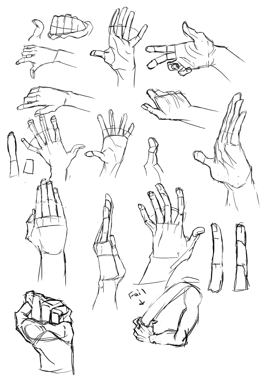 Hand Studies by Cutiekitty01