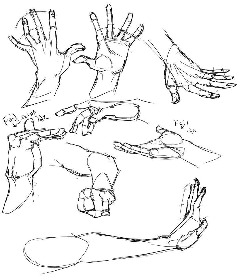 Hand Practice 2 by Cutiekitty01