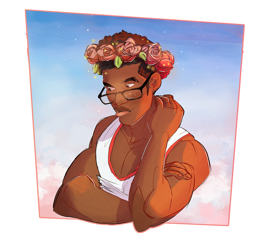 Bae in the flower Crown by Cutiekitty01
