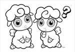 Chibi Sheep ::LineArt::