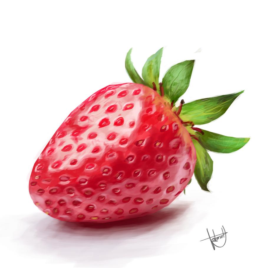 Strawberry by GabrielMarafigo