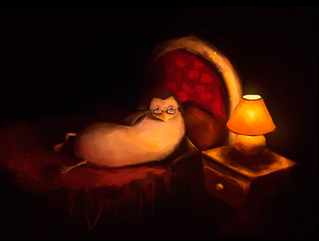 Sexy Penguin by GabrielMarafigo