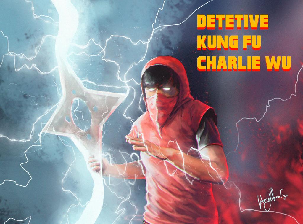 Kung Fu Charlie Wu by GabrielMarafigo