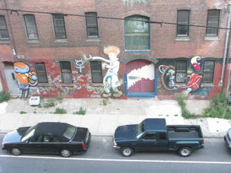 mad scientist/robot henchmen mural -full