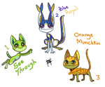 Frogkits adoptables (Open)