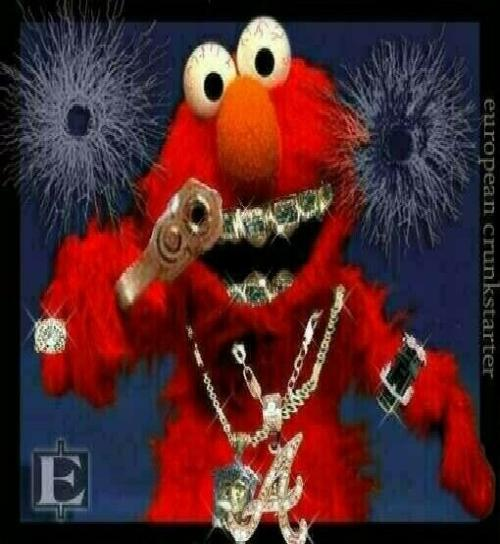 Gangster ELMO by drag-racer-1 on DeviantArt