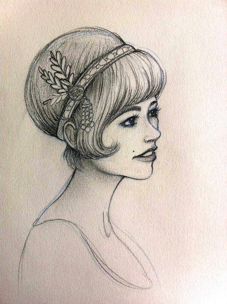 Daisy - The Great Gatsby by Fli-nn