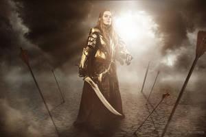 Elven knight of mirkwood by vergessenes-Wesen