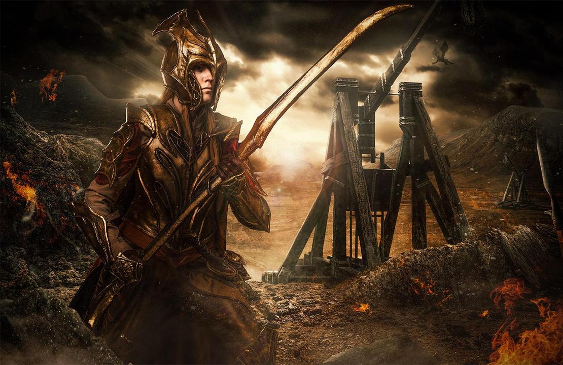 knight of mirkwood by vergessenes-Wesen