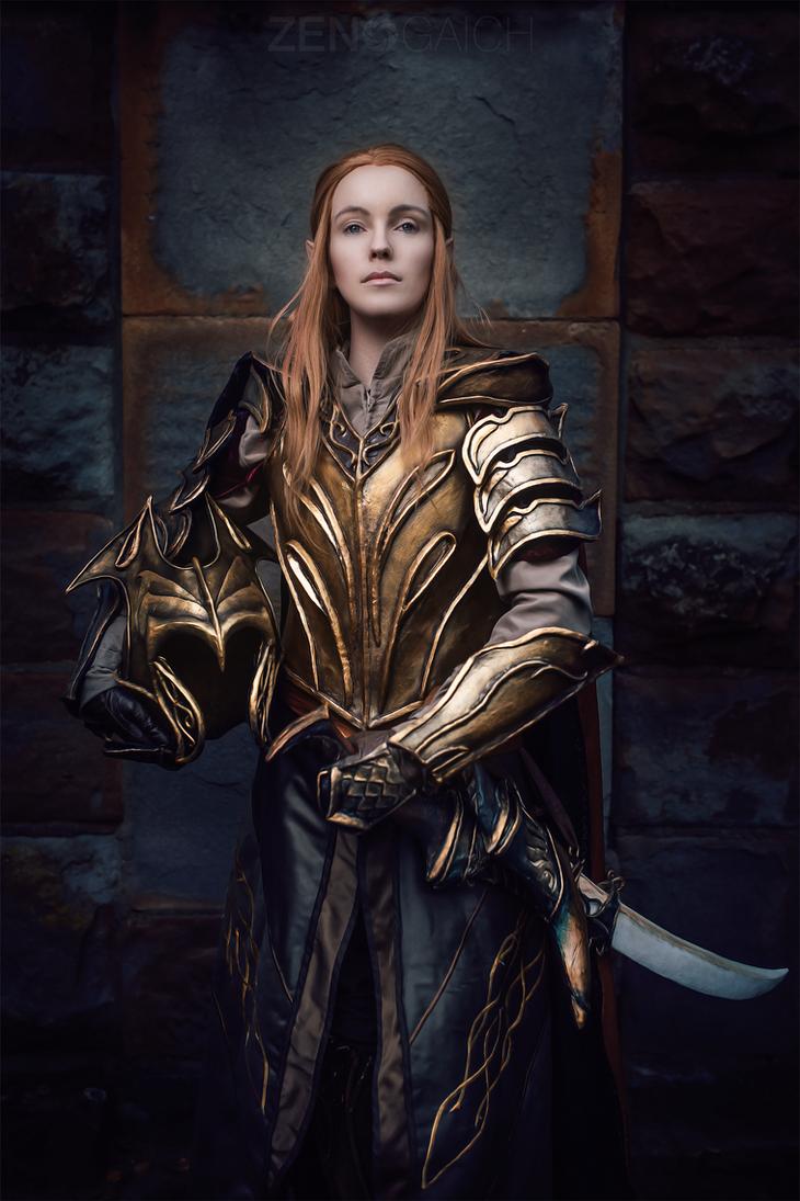 Elven Knight out of the Hobbit by vergessenes-Wesen