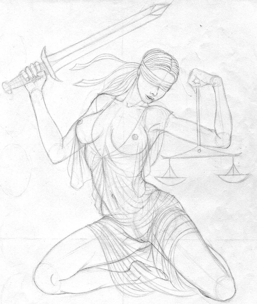 Lady Justice Art Lady justice concept wip: galleryhip.com/lady-justice-art.html