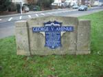 George V Plaque