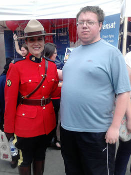 Me and a Mountie