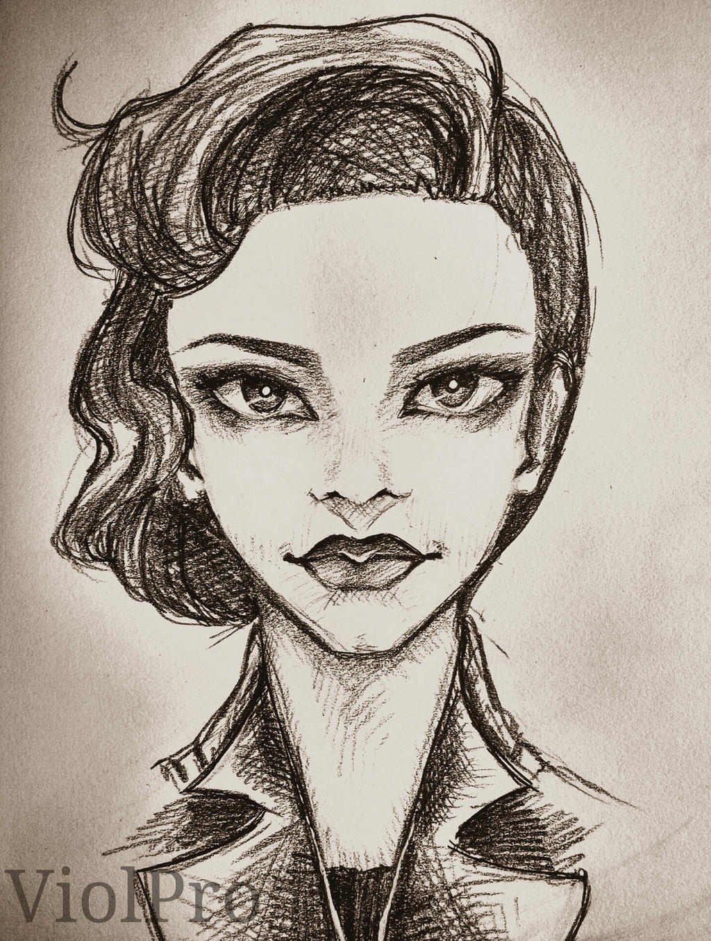 Miss Peregrine S Home For Peculiar Children Drawn