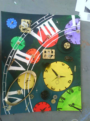 Finished clock project