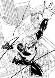 Nightwing Page 1 by popia