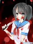Fanart: Ayano Aishi ( Yandere-chan )