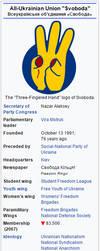Svoboda (Ukraine) - 2068 C.E. by machinekng