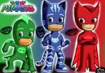 Pj Masks: Heroes En Pijamas