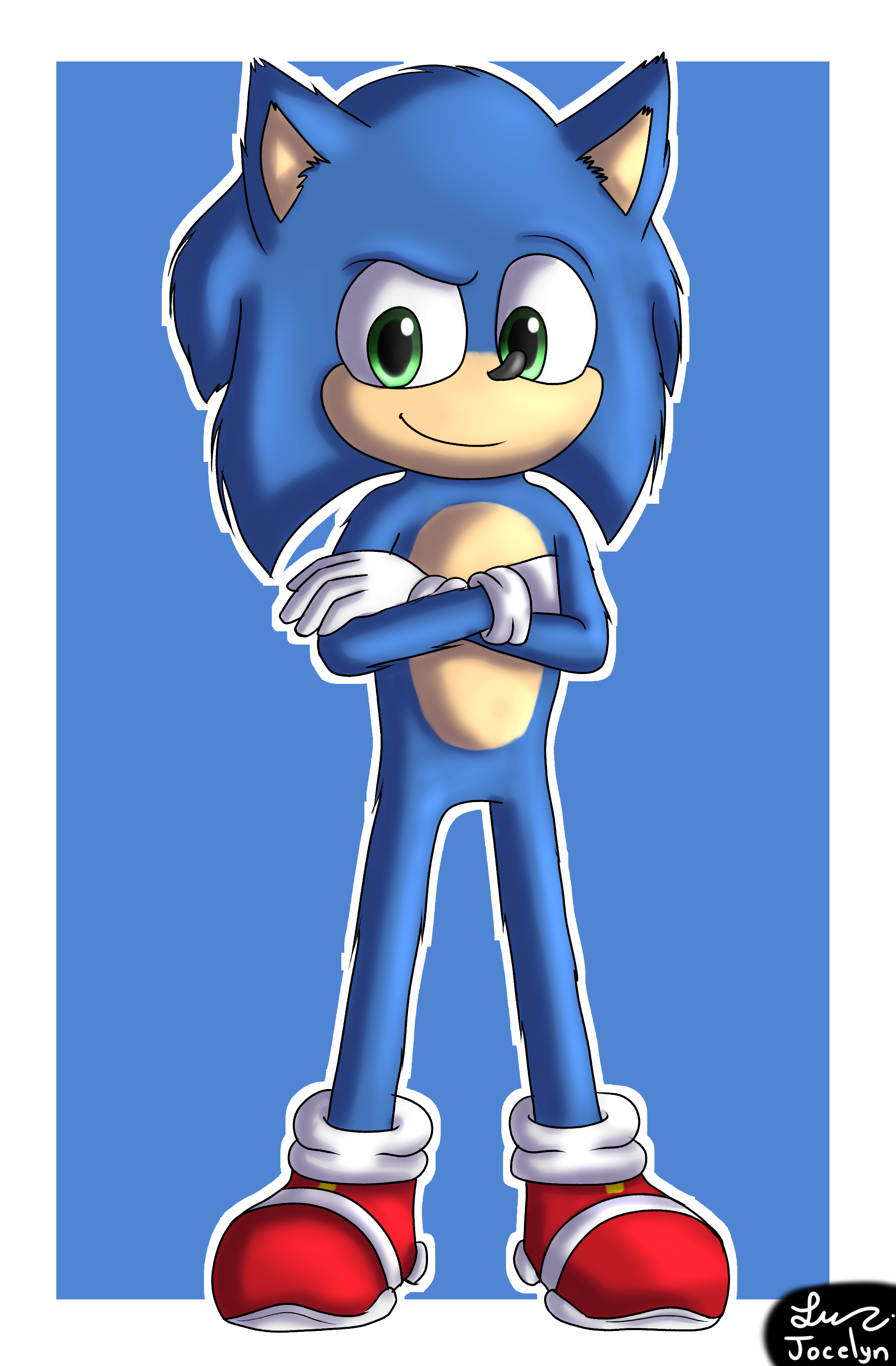 Sonic La Pelicula Sonic The Hedgehog Movie 2020 By Jocelynminions On Deviantart