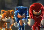 Sonic Tails Y Knuckles Movie