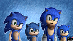 Sonic Modern, Movie, Boom And Classic