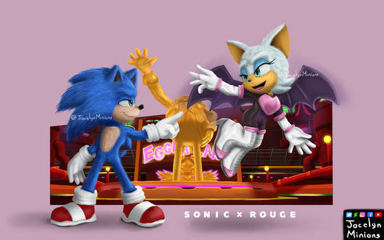 Sonic Y Rouge Sonic Channel