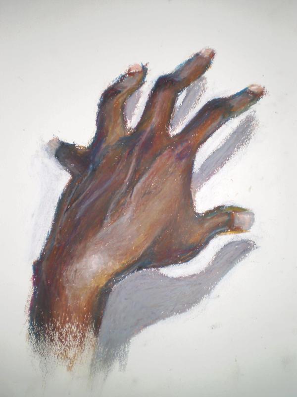 hand colour study by djet-damani-layne on DeviantArt
