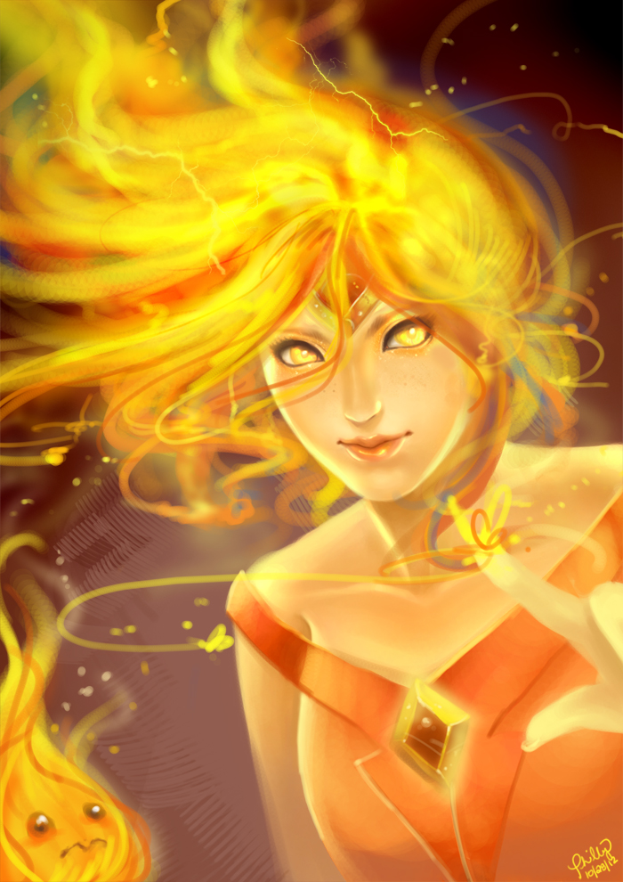 Flame Princess by phillydelphy