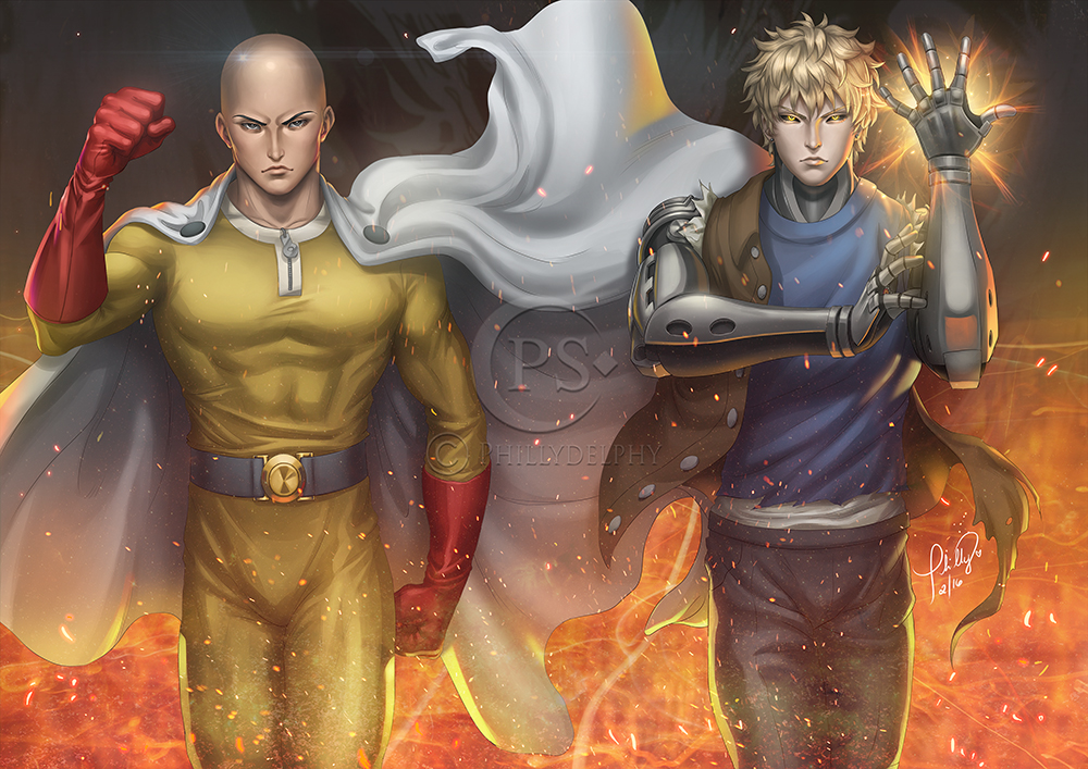 One Punch Man by phillydelphy