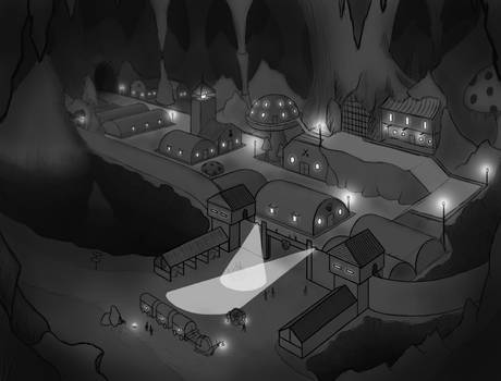 Frontier Town concept