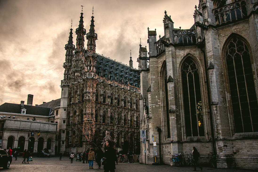 Leuven by Anarchy-in-White