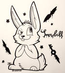 |INKTOBER| .:Day 9- Not an innocent bunny:.