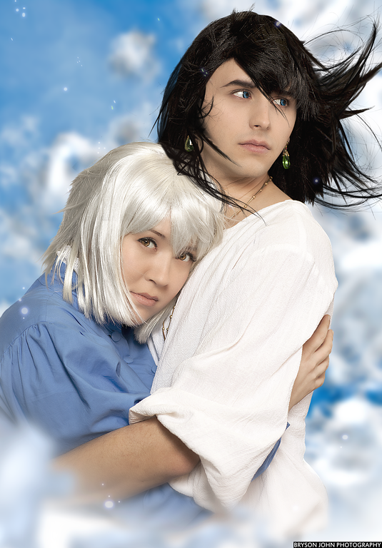 Howl and Sophie by SPiCEYRiCEY