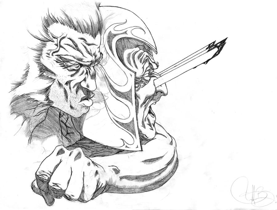 Wolverine Vs Magneto Nr2 By Estcado85 On Deviantart