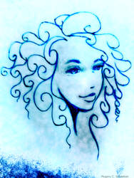Beautiful girl with curly hair ! by plugaruseby