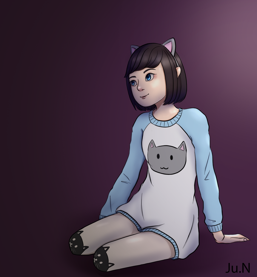 Cat outfit ~ by Nishijun