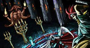 I SCRIBBLE: Magus battle by Juongie